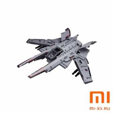 Конструктор Xiaomi Smart Building Block Aquila Reconnaissance Aircraft XJXL02IQI (Grey)