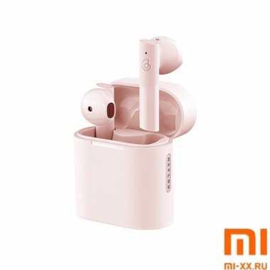 Беспроводные наушники Haylou MoriPods True Wireless Bluetooth Headset (Pink)