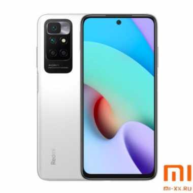 Мобильный телефон Xiaomi Redmi 10 (6Gb/128Gb) Pebble White