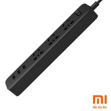 Удлинитель Xiaomi Mi Power Strip (Black)
