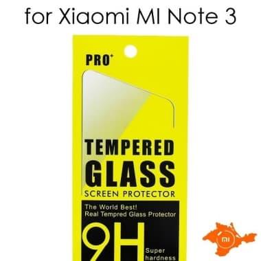 Защитное стекло для Xiaomi MI Note 3